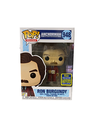 Ron Burgundy Anchorman Exclusive Limited Edition