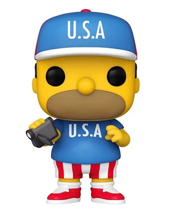 Funko Pop! The Simpsons: USA Homer