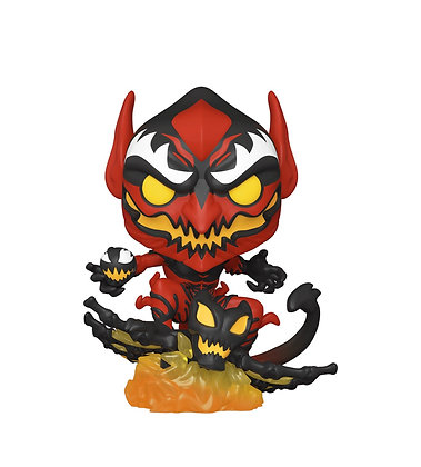 Funko Pop! Marvel: Red Goblin #682 NYCC 2020 Shared Sticker Exclusive