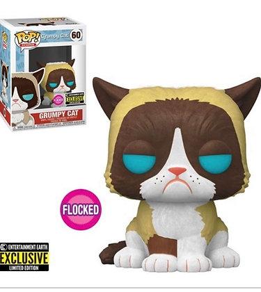 Funko Pop! Grumpy Cat  Flocked EE Exclusive