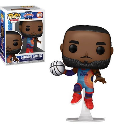 Funko Pop! Space Jam A New Legacy: Lebron James Leap