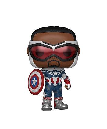 Funko Pop! The Falcon and Winter Soldier:  Captain America