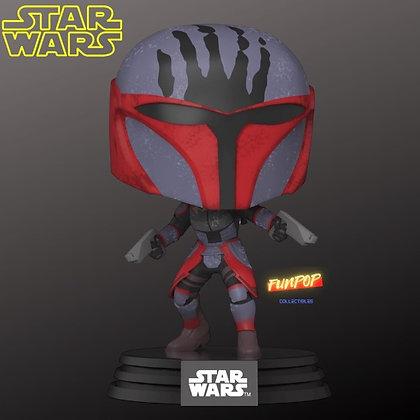 Funko Pop! Star Wars Clone Wars: Super Commando Mandalorian #415