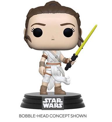 Funko Pop! Star Wars: Rey with Yellow Saber