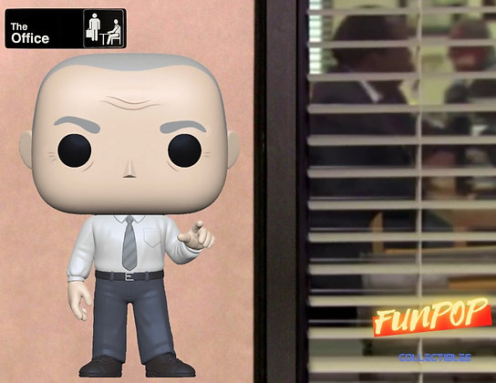 Funko Pop! The Office: Creed Bratton Specialty Series