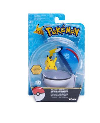 Pokemon: Trainer Figure  Pokeball Pikachu