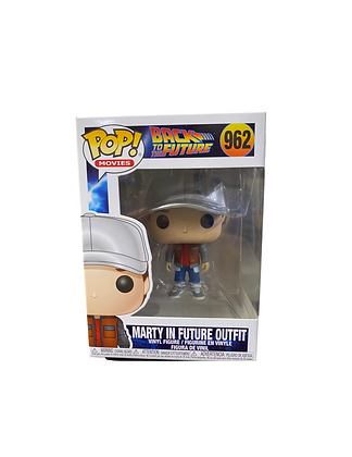 Funko Pop: Back To The Future: Marty In The Future Outfit