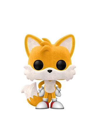 Funko Pop! Sonic the Hedgehog: Tails #641 Flocked