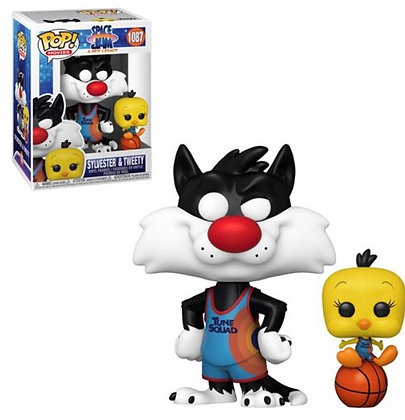 Funko Pop! Space Jam A New Legacy: Sylvester and Tweety