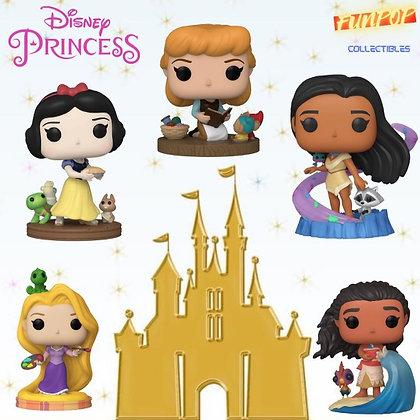 Funko Pop! Disney Ultimate Princess: Bundle of 5