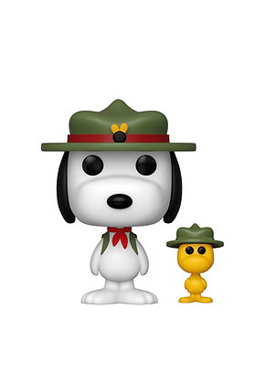 Funko Pop! Peanuts: Beagle Scout Snoopy with Woodstock