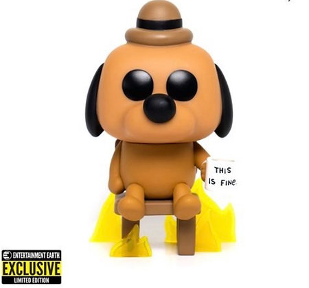 Funko Pop! This is Fine Dog EE Exclusive