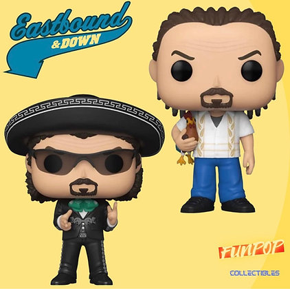Funko Pop! Eastbound and Down! 2 Set Bundle