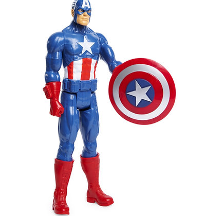 "Marvel: Titan Superhero Captain America 12 "" Action Figure"