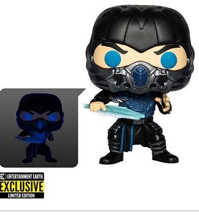 Funko Pop! Mortal Kombat: Sub-Zero GITD Entertainment Earth Exclusive