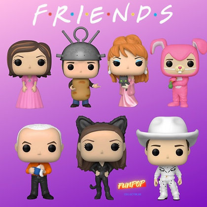 Funko Pop! Friends: Bundle of 7