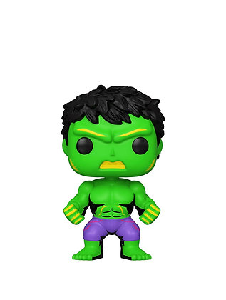Funko Pop! Marvel Blacklight: Hulk Funko Exclusive Sticker