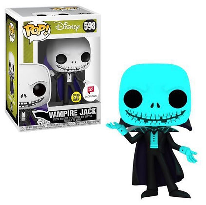 Funko Pop! Vampire Jack Glow In The Dark Walgreens Exclusive #598