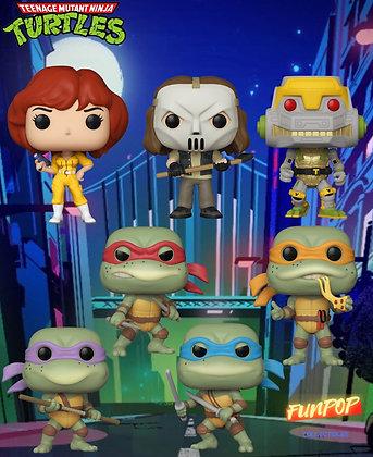 Funko Pop! Teenage Mutant Ninja Turtles: Bundle of 7 Pops