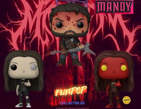 Funko Pop! Mandy: Ultimate Bundle of 3 GUARANTEED CHASE