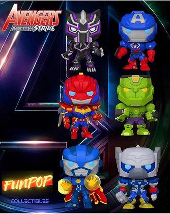 Funko Pop! Marvel Mech: Bundle of 6 Common Set