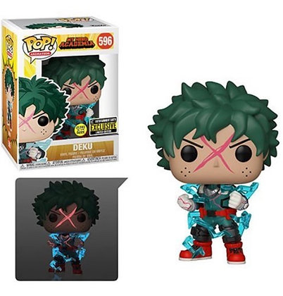 Funko Pop! My Hero Academia: Deku Full Cowl Glow-In-The-Dark EE Exclusive