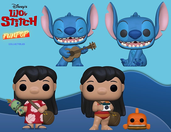 Funko Pop! Lilo & Stitch: Bundle of 4