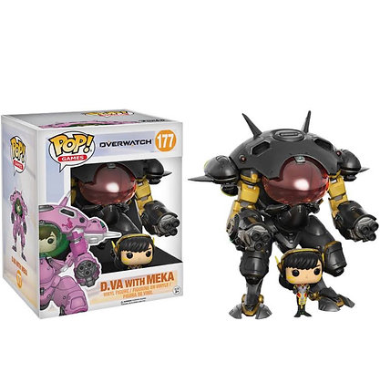Overwatch: D.Va with Meka Blizard Exclusive