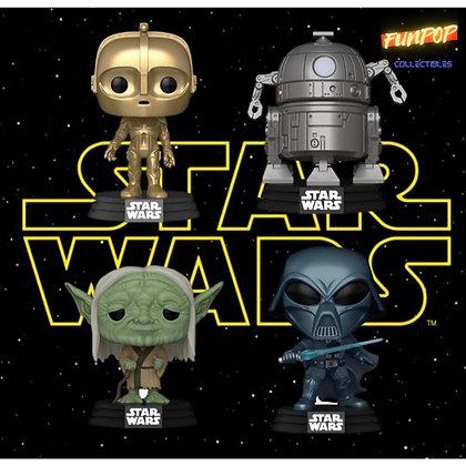 Funko Pop! Star Wars Concept Series: Set of 4