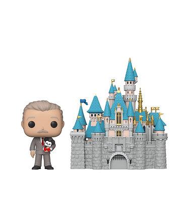 Funko Pop Town! Disney: Sleeping Beauty Castle and Walt Disney Funko Pop