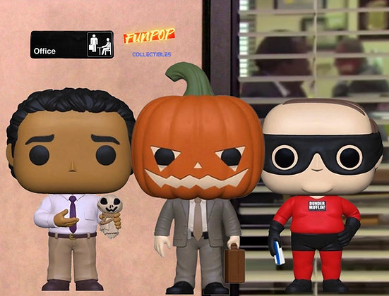 PREORDER Funko Pop! The Office: Bundle of 3