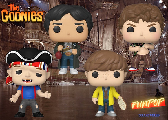 Funko Pop! The Goonies: Bundle of 4