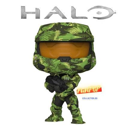 Funko Pop! Halo Infinite: Master Chief with MA40 Assault Rifle in Hydro Deco #17