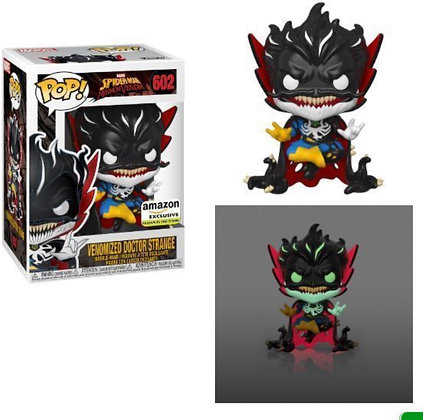 Funko Pop! Marvel: Venomized Doctor Strange #602 Glow In The Dark Exclusive