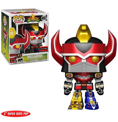 Funko Pop! Mighty Morphin Power Rangers: Megazord #497 AAA Anime Exclusive