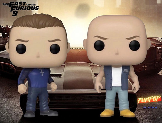 Funko Pop! Fast and The Furious 9: Bundle of 2