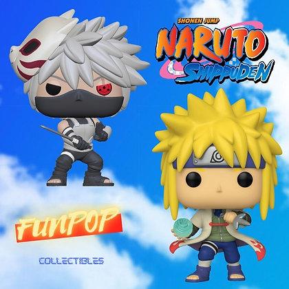 Funko Pop! Naruto: Bundle of 2,  Minato/Kakashi AAA Anime Exclusive