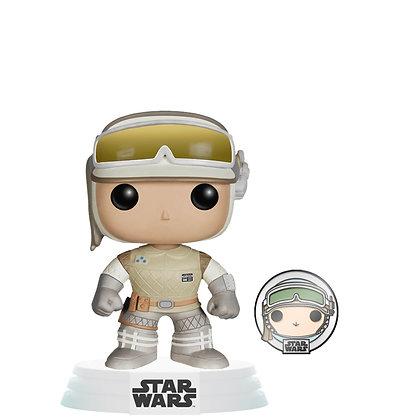 Funko Pop! Star Wars: Hoth Luke Skywalker with Pin Exclusive