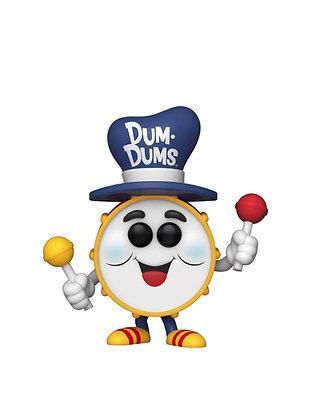 Funko Pop! Dum-Dums Drum Man #105 2020 NYCC Shared Sticker