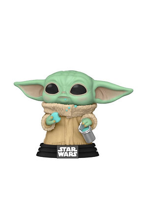 PREORDER Funko Pop! Star Wars The Mandalorian: The Child with Cookie