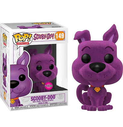 Funko Pop! Scooby Doo: Scooby Doo Purple (Flocked) Special Edition Sticker