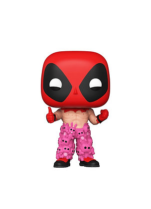 Funko Pop! Marvel Deadpool: Deadpool #754 Shared Sticker Exclusive