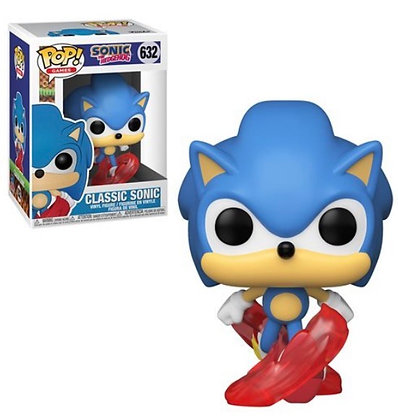Funko Pop! Sonic the Hedgehog: 30th Anniversary Running Sonic #632