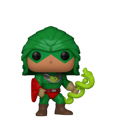Funko Pop! Masters of The Universe: King Hiss #1036 Toy Tokyo Exclusive Sticker