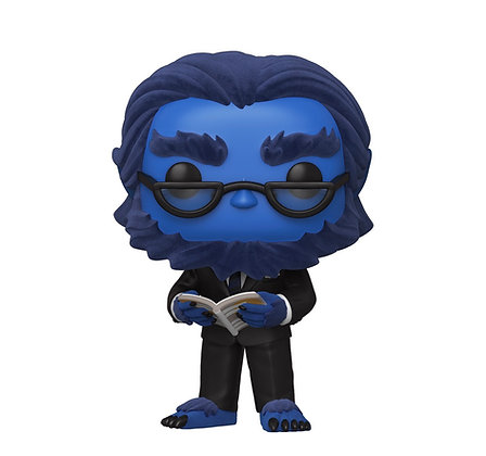 Funko Pop! Marvel X-Men: Beast #643 Flocked Walmart Exclusive