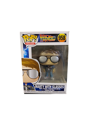 Funko Pop! Back To The Future: Marty With Glasses