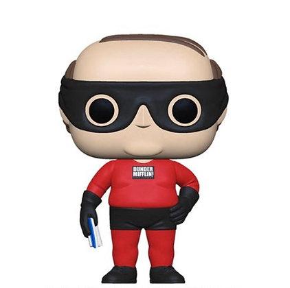 PREORDER Funko Pop! The Office: Kevin as Dundee Mifflin Superhero