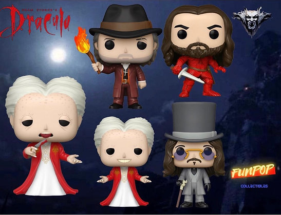 Funko Pop! Bram Stoker's Dracula: Bundle of 5 (Includes Chase)