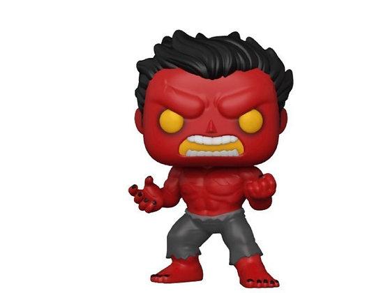 Funko Pop! Marvel: Red Hulk HT Exclusive Sticker