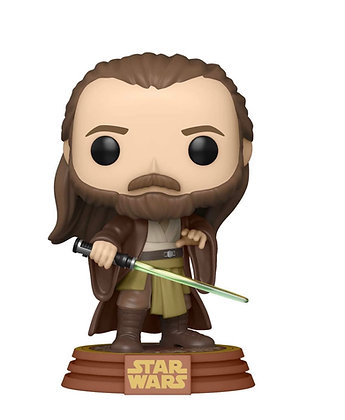 Funko Pop! Star Wars: Qui-Gonn Jinn #422 (Tatooine) Exclusive